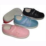 Segeltuch-Schuhe der bequemen Kinder mit Einspritzung Outsole