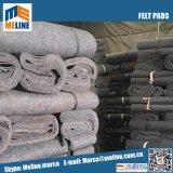 Patins de feutre gris, matelas feutre, pas d'odeur, de bonne qualité et prix bon marché