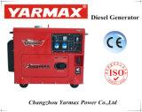 Yarmax 5.5kVA портативных и экономических Silent тип генератора дизельного двигателя
