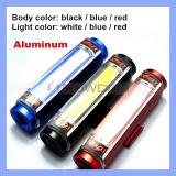3 indicatore luminoso ricaricabile della coda della bicicletta di modo di illuminazione di colore 3 delle coperture