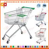 Prix bas de qualité remettant le chariot à caddie de supermarché (ZHt236)