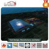 50м ширины Прозрачный верхний огромный зал со стеклянным Walling палатки для 10000 человек концерт события