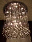 Iluminación cristalina moderna del techo de la decoración K9 de Phine