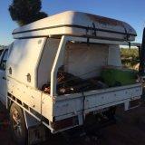 nicht für den Straßenverkehr hartes Dach-Oberseite-Zelt des Shell-4X4 für das Wandern