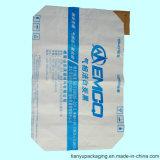 Sacchetto a più strati della carta kraft Con la bocca per nero di carbonio bianco, silicone (10kg) della valvola