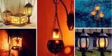 Efecto de luz LED de fuego de llama G4 DC8-30V la bombilla de maíz de la quema de LED Lámpara para decoración Festival Lingts