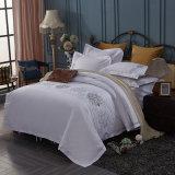 最高の贅沢なデザイン白い刺繍のホテルの寝具のコレクション