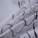 中国の刺繍のシーツの綿のホテルの寝具セットの製造業者