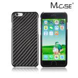 Buen precio del fabricante de China 100% real de fibra de carbono cubierta móvil para Apple iPhone 7 Plus