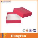 بسيطة أحمر مجموعة ورقة هبة يعبر صندوق