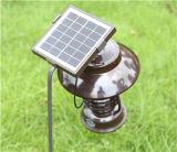 Lâmpada de assassino de insetos com Energia Solar Luz de insetos 100% alimentada a energia solar