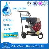 Limpiador de superficies barco de motor de gas de la máquina de alta presión