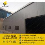6082-T6 Cadre en aluminium tente d'entrepôt avec chaleur Mur isolé