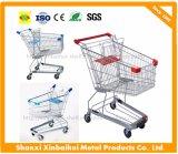 60-240 chariot asiatique de chariot à supermarché d'achats de litre avec lourd