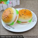 질퍽한 짜기 햄버거 음식 느린 일어나는 아이 장난감 장식 선물