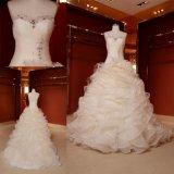 Baile de finalistas de Ballgown que nivela o vestido de casamento Z11136 do vestido nupcial