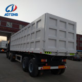 80 la tonne 50cbm benne camion avec remorque 3 essieux