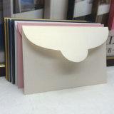Papel especial perla sobre comercial con estampado en caliente (CMG-ENV-007)