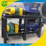 Plastica/grumo/tubo resistenti industriali che ricicla la singoli trinciatrice/frantoio dell'asta cilindrica