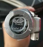 Smoothbore Standard tressée flexible en Téflon, acier inoxydable tressé de tuyaux en PTFE