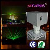 На заводе высокий мощный 10W для использования вне помещений зеленый лазер