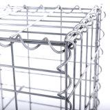 los 1X1X1m cubren con cinc pesadamente la jaula soldada revestida de Gabion (ZDWGC)