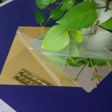 Espelho de ouro de PMMA folha de plástico.