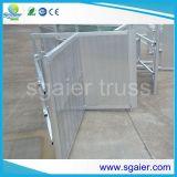 Stage Safety Metal Crowd Control Barrier Rental Barrier