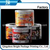 Pet flexível de alimentação/BOPP/filme rolo impresso de compósito de PE para embalagens de chá e café