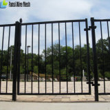 Загородка черного порошка Coated орнаментальная стальная для рекламы