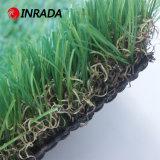Visualización artificial de la hierba de la alfombra natural al aire libre del jardín
