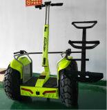 1266wh 72Vの二重電池の電気手段21インチの電気一人乗り二輪馬車の自己のバランスをとるスクーター