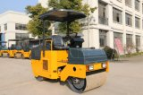 Diesel van de Prijs van de fabriek Mini Gemotoriseerde TrillingsWegwals Achter elkaar voor Verkoop
