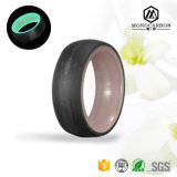 Hot Selling Popular Bling Glow Material Round Ring