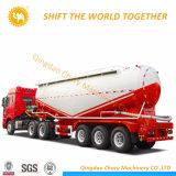 조심스러운 압축기 및 디젤 엔진 55cbm 대량 시멘트 유조선 트레일러