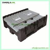 1000kg pliables en plastique de stockage de boîte de recyclage de palettes de roulement