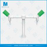 Robinet bi-directionnel d'analyse de robinet de laboratoire