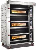 3 plateaux de luxe 6 bacs Pont de l'équipement de cuisson au four à gaz