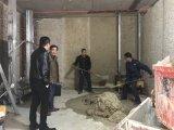 벽 건축 기계를 회반죽 자동 지속적인 연출