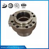 Geschmiedete Stahl CNC-maschinell bearbeitenanteile an Metallmaschinell bearbeitenmaschinerie-Teil-System