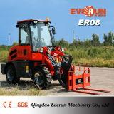 Everun 0.8ton Ce утвердил Er08 мни-погрузчик с ROPS и Fops кабины для продажи