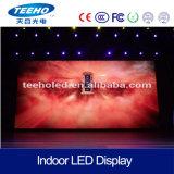 ¡Venta caliente! Visualización de LED video de interior de la pared P4 RGB para la etapa