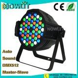 54PCS 3W RGBW LEDの同価の洗浄ライト