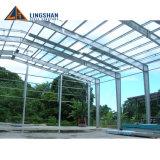Magazzini industriali della struttura d'acciaio di disegno della tettoia di basso costo