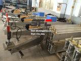 Bande de conveyeur joignant la presse de vulcanisation, bande de conveyeur réparant la presse