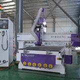Ranurador del CNC con el cambiador auto de la herramienta para el aluminio