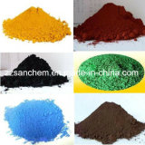 Het synthetische Pigment van het Oxyde van het Ijzer voor de Kleuren van de Korrel van de Meststof
