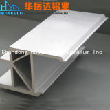 Perfil de alumínio anodizado para a construção Windows e as portas