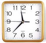 安い価格の正方形の柱時計、クロック工場、OEM