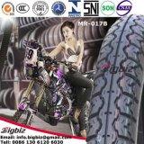 La máxima calidad 80/100-14 neumático de moto/neumático para el mercado de Chipre